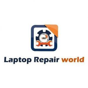 laptop repair world logo madhapur