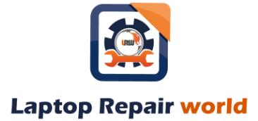 laptop repair world official logo