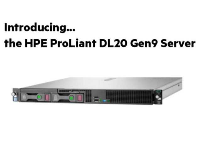 HPE ProLiant DL20 Gen9 1U Rack Server 871429-B21 Hyderabad