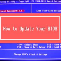 Laptop BIOS Update