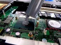 Laptop Fan and Apply Thermal Paste