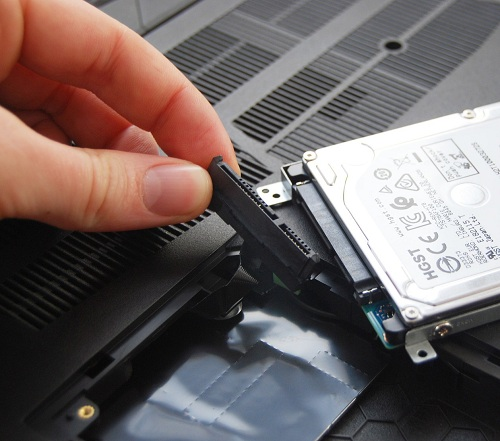Laptop Hard Disk Drive Upgrade in 1 Hour