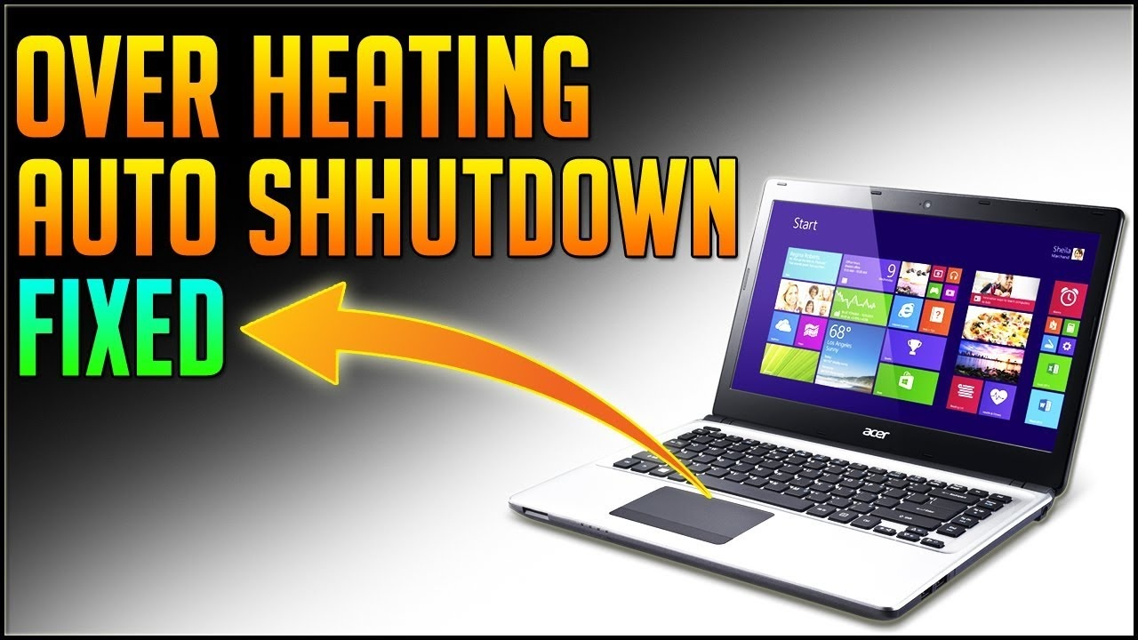 Laptop Randomly Shutting Down Problem Repair Hyderabad Secunderabad Telangana India
